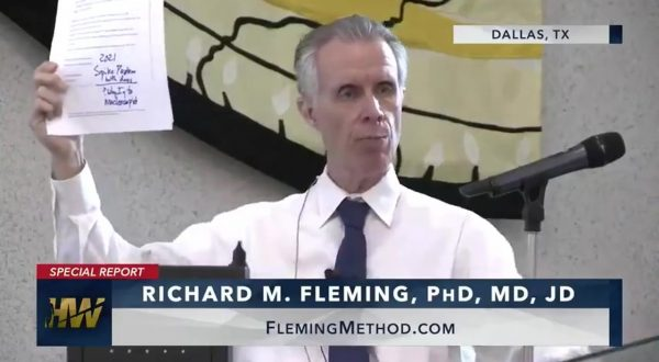 Dr. Richard Fleming reveals the truth about corona vaccines