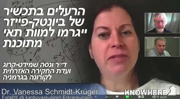 Dr. Vanessa Schmidt-Krug The toxins in Biontech Pfizer will cause programmed cell death