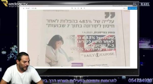 Guy Tal with information about the pregnancy vaccine